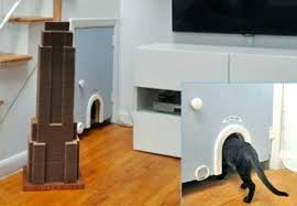 wooden litter boxes fancy box cat furniture idea 8 creative ways hideaway house cover