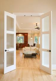 Small Interior Doors Small Interior French Doors With Frosted Glass Novalinea Bagni
