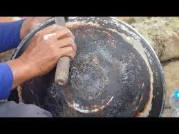 Terpaksa seasoning wajan cara seasoning wajan yang benar. Proses Menambal Panci Part 1 By Alhamdu Ulil