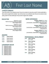 Stand Out Resume Templates Interesting Simple Resume Template Stand Out Resume Templates Simple Resume