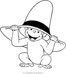 Disegno Curiosogeorge08 Personaggio Cartone Animato Da Colorare