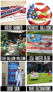 Ideas For A Grand Military Homecoming