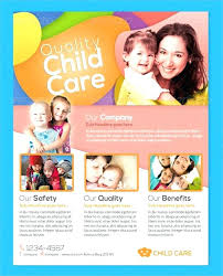 Home Daycare Flyer Templates Ideas Free Drsclinic Co