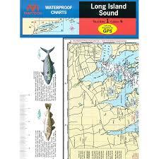 Maptech Folding Waterproof Chart Long Island Sound