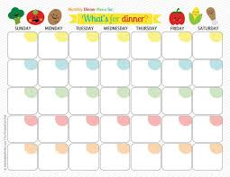 monthly meal planner template 25 unique menu calendar ideas on pinterest monthly menu planner