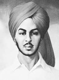 essay on bhagat singh words