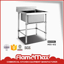 stainless steel fish cleaning table with sink with sinks sinks suppliers and stainless steel kitchen fish