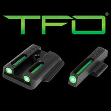 details about truglo ruger lc9 lc9s lc380 tritium fiber optic tfo night sights tg131rt2