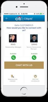 citigold relationship manager citi india citi mobile app