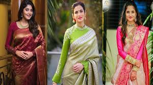 Latest Full Sleeves Blouse Designs Latest Long Full Sleeves Blouse Designs For Silk Sari Full Sleeves Blouse Designs For Wedding Party