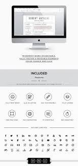 Illustrator Resume Clean Professional Resume Template Papersize