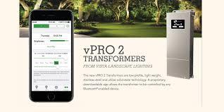 vista lighting landscape transformer 75 va w bluetooth app control