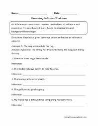 Inference-worksheets-3rd-grade & Inferences Worksheets 1 Reading ...