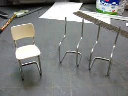 dollhouse furniture to make. Dollhouse Miniature Furniture - Tutorials | 1 Inch Minis: How To Make A Metal Tubular Kitchen Chair