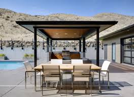 Design Ideas With Brown Wall Background Outdoor Kitchen Design - Outdoor kitchen omaha
