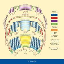 Cirque Du Soleil Mystere Seating Chart Bellagio Cirque Du Soleil O Seating Chart Fusion Grain