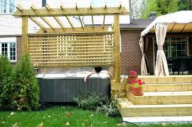 backyard privacy screens outdoor great screen ideas for garden apartment balcony retractable patio div