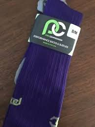 Details About Pro Compression Socks Purple Small Medium