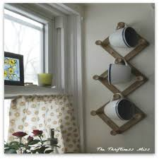 Repurposed Coat Rack Repurposed Coat Rack to Coffee Cup Holder Hometalk 73