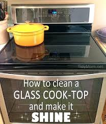 clean glass cooktop surface how to