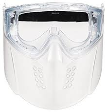 Msa Safety 10150069 3m Faceshield Goggle Assembly Clear Visor