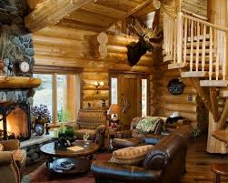 Small Log Cabin Living Room Ideas & s
