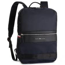 backpack tommy hilfiger nylon mix backpacks am0am04764 413 notebook bags and backpacks leather goods accessories efootwear eu