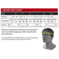 39 Memorable Simpson Helmet Sizing Chart