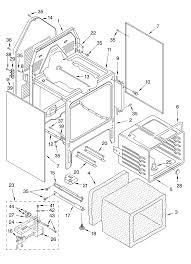 whirlpool whp54803 standing electric timer stove clocks whp54803 standing electric oven chassis parts diagram