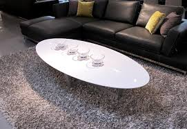 white oval coffee tables