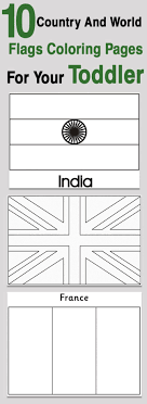 Cooloring Book Flags Of The World Coloring Pages Country Printable