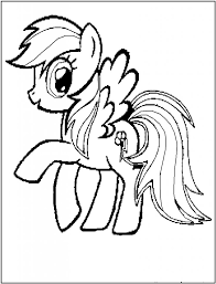 Small Picture 14 best Rainbow Horse images on Pinterest Coloring sheets Adult