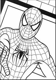 Small Picture good printable spider man coloring pages with spiderman color