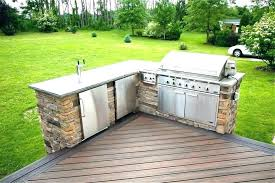 building an outdoor kitchen on a deck building outdoor kitchen outdoor kitchen on deck built in building an outdoor kitchen