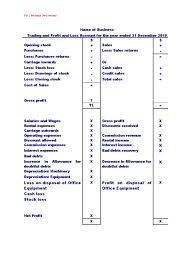 Format Of Income Statement Pdf Archives Hashtag Bg