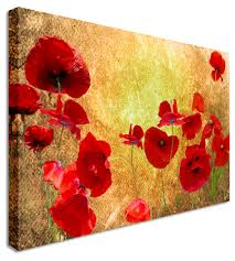 vintage oil painting abstract brown beautiful poppies classic home decoration adorable poppy canvas wall art large on poppy wall art uk with wall art adorable pictures poppy canvas wall art poppy pictures on