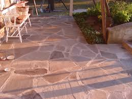 flagstone patio cost luxury flagstone what to use sand cement or gravel