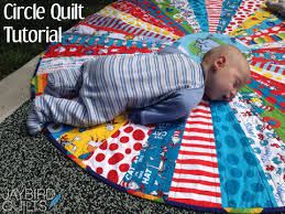 Circle Quilt Patterns New Circle Quilt Tutorial Jaybird Quilts