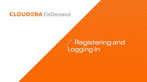 Self Design Sign In Cloudera Ondemand Self Paced Training How To Register And Log In