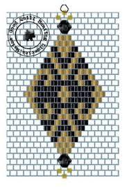 Brick Stitch Patterns Interesting Diamond Brick Stitch Patterns Seed Bead Tutorials Seed Bead