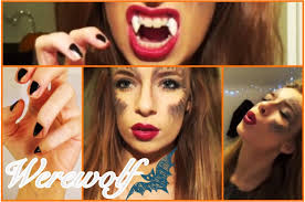 tutorial werewolf hair makeup nails outfit ideas you