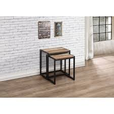 urban rustic furniture. Rustic Nest Of Tables Urban Living Room From Mdm Furniture Ltd On