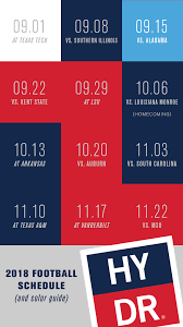 Ole Miss Football Seating Chart 2017 Hydr Ole Miss Football 2018 Schedule And What To Wear