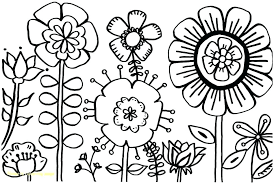 Flowers Coloring Pictures Printable Color Pages Flowers Coloring