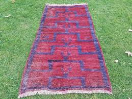 vintage turkish flokati rug 1970s 1