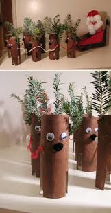 Remodelaholic  35 Paper Christmas Decorations To Make This Christmas Crafts Made With Toilet Paper Rolls