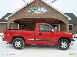 1999 Victory Red Chevrolet Silverado 1500 Z71 Regular Cab 4x4 ...