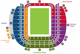 Notre Dame Stadium Detailed Seating Chart Aviva Stadium Seating Map Notre Dame Football Stadium