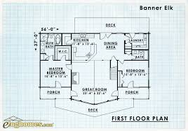 banner elk floor plan first floor log home