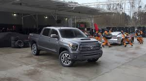 2018 Toyota SEQUOIA Large SUV & TUNDRA Full-Size Pickup Truck TRD ...